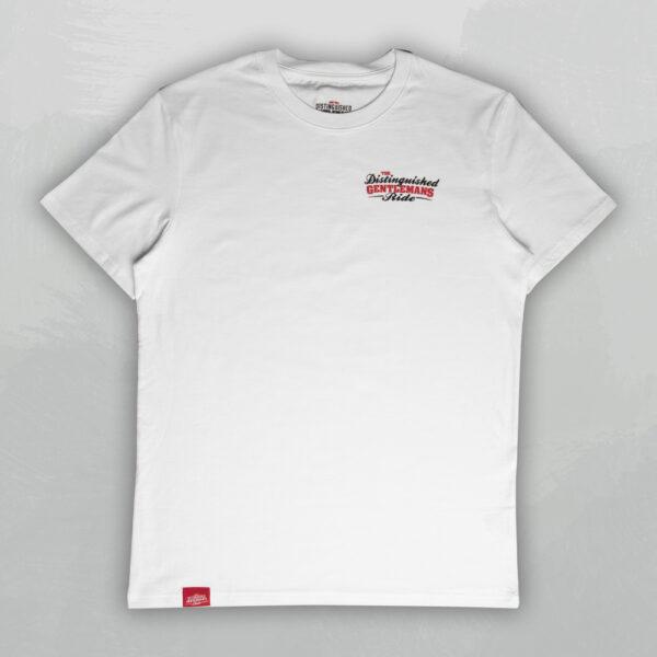 DGR 2020 Pocket Logo Tee (White)